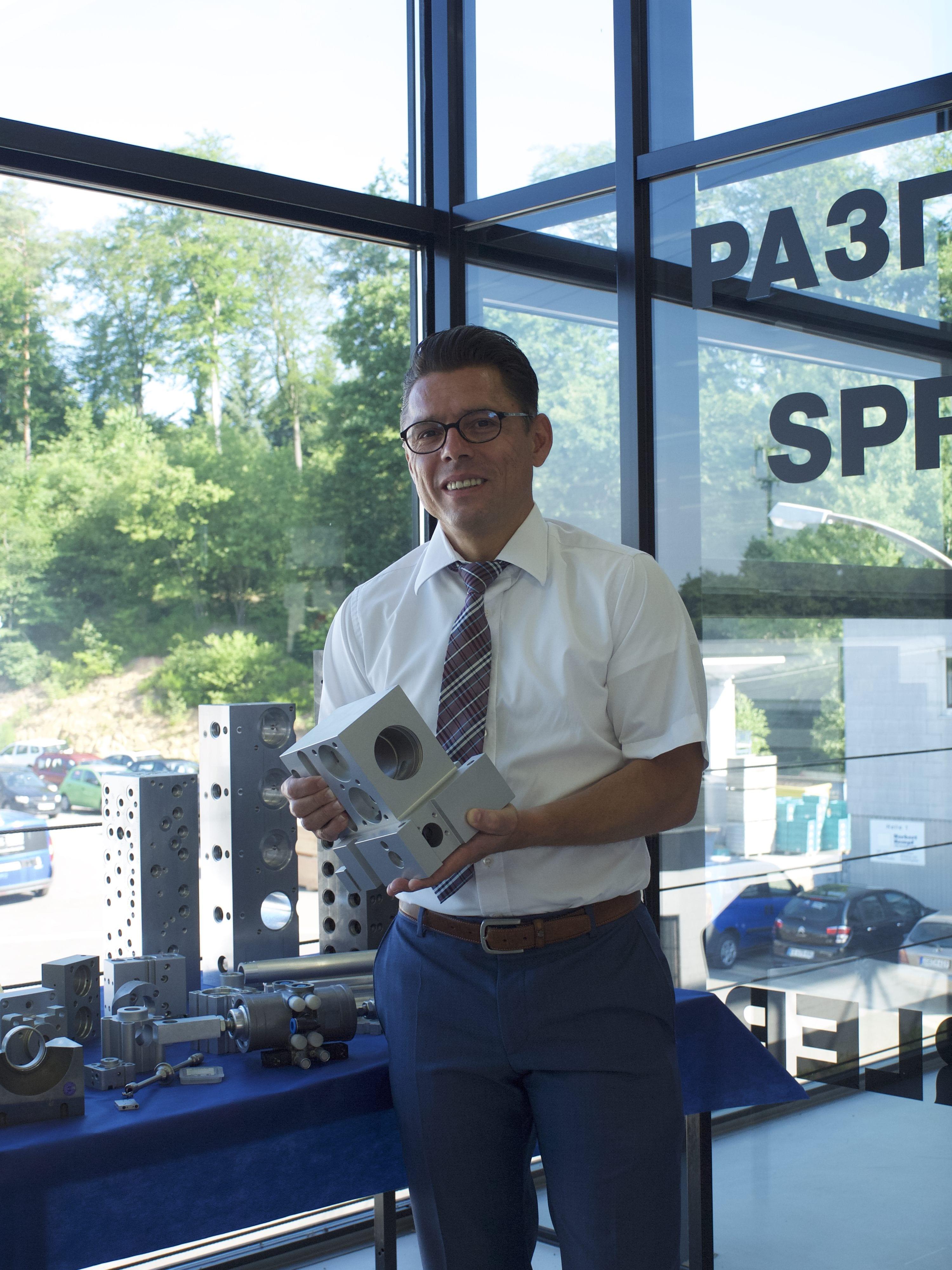 Kempf CNC Technik subtracts a wide range of parts