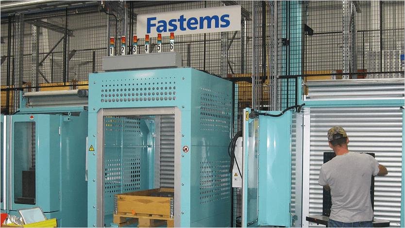 Aircraft Manufacturing productivity increase with Fastems MLS palllet system