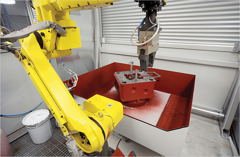 Increase Manufacturing productivity with robot automation