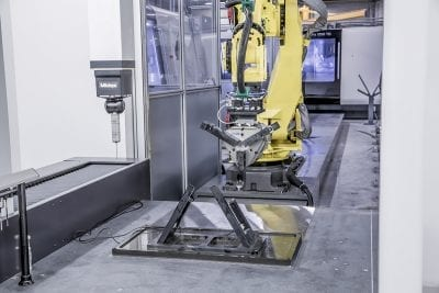Increase manufacturing productivity with Fastems Robotic produciton cell