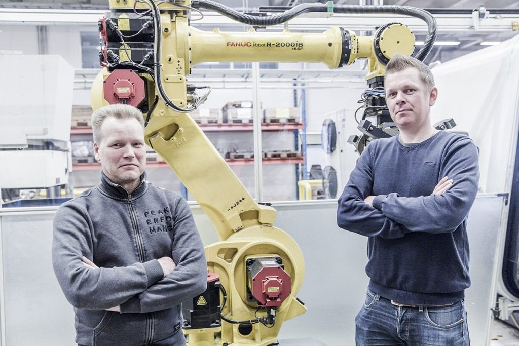Konepaja sihvo has long and succesful experience with fastems automation solutions.