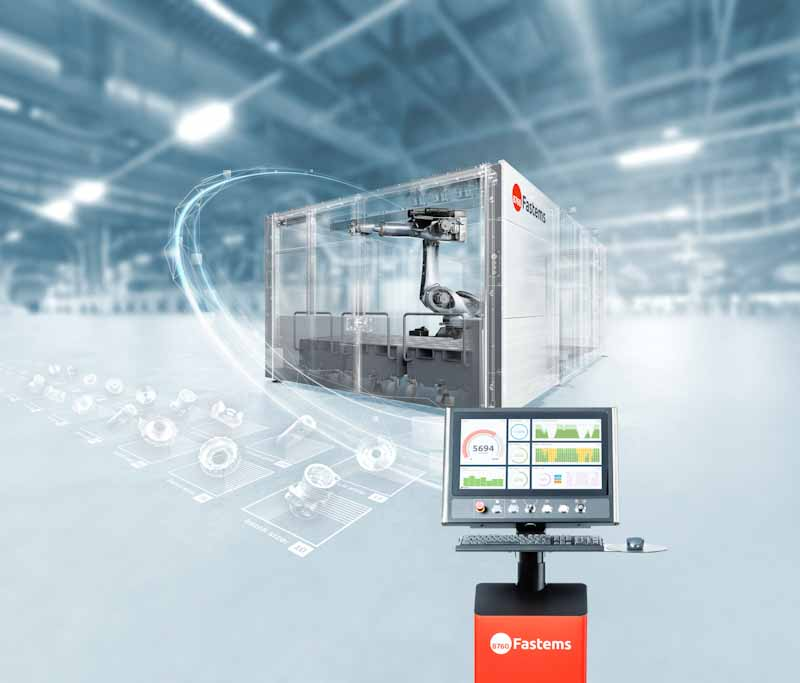 Fastems RoboCell ONE with intelligent control software MMS