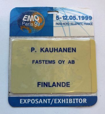EMO Hannover 1999 - MMS presentation