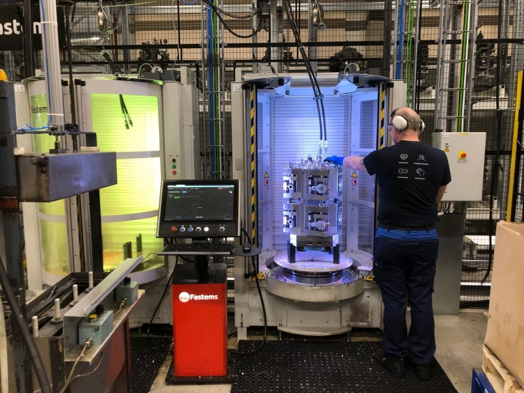 Kongsberg a- Flexible manufacturing system - automation