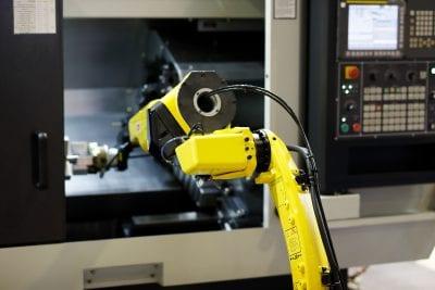 Robotic CNC automation