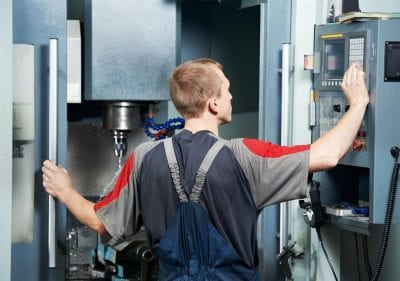 Operating CNC machine tool