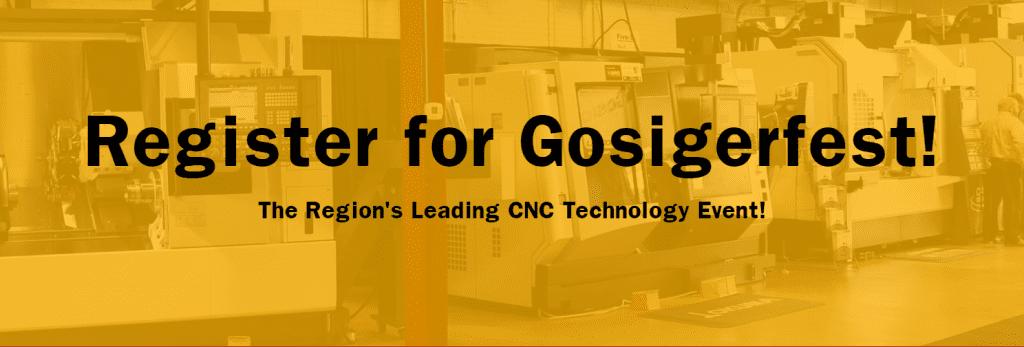 Gosigerfest 2021 - register