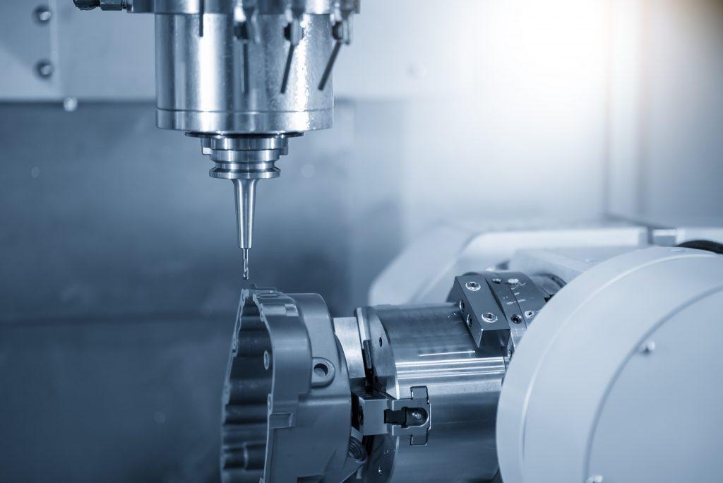 multi-axis machining center